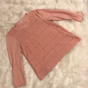 Jcrew lace top